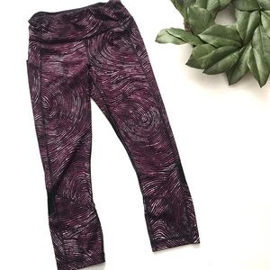 Lululemon Pace Rival Crop Who Done It Regal Plum